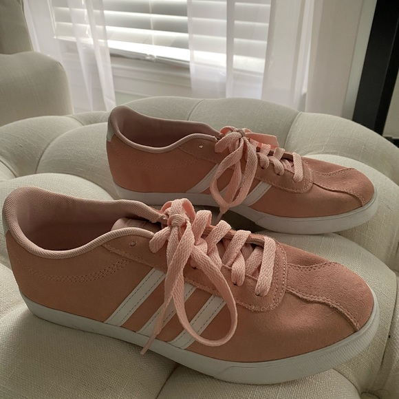 Womens Adidas Court Sneakers In Dusty